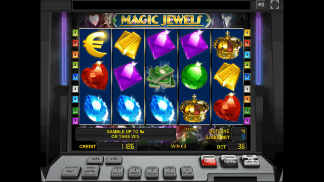 Характеристики слота Magic Jewels 5