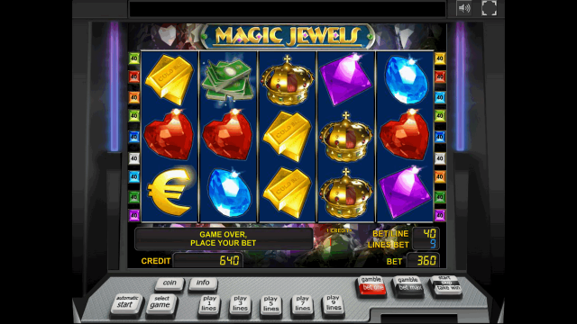 Характеристики слота Magic Jewels 10