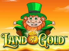 Выиграть на деньги джек-пот в Land Of Gold